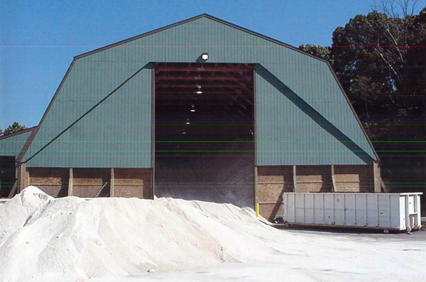 Longview Salt Storage Facility - Tech Contracting Company Project